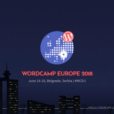 WordCamp Europe 2018 Banner